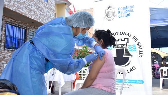Este sábado 7 y domingo 8 de noviembre llevará a cabo una jornada de vacunación también el Callao. (Foto: Diresa Callao)
