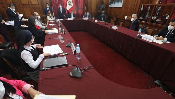Comisión especial no puso al voto un pedido para que el legislador José Luna Morales sea retirado del grupo de trabajo. (Foto: Congreso)