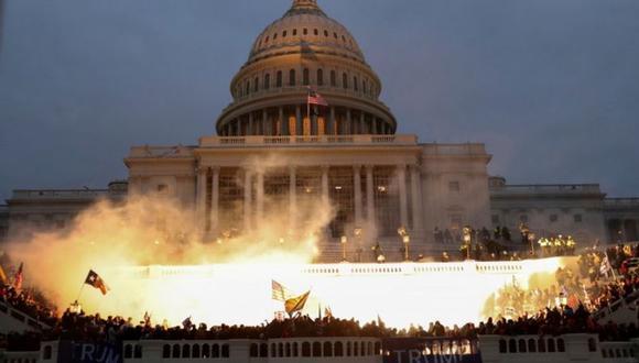 ¿Qué impacto tendrán las escenas que se vieron en el Capitolio en las relaciones y la imagen de EE.UU. en el exterior? (Reuters).