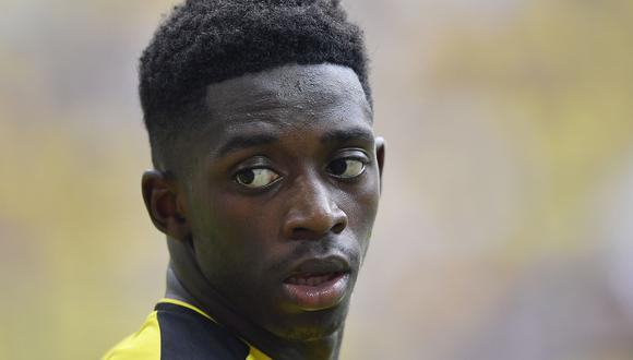Dembélé no ha jugado este inicio de temporada con el Borussia Dortmund ya que fue suspendido. (Foto: Agencias).