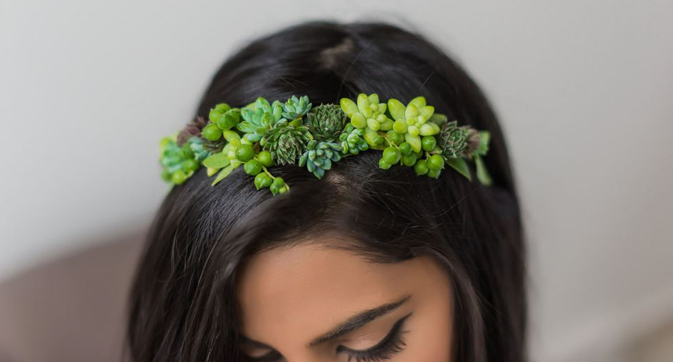 Estas piezas de joyería están hechas con plantas reales - 5