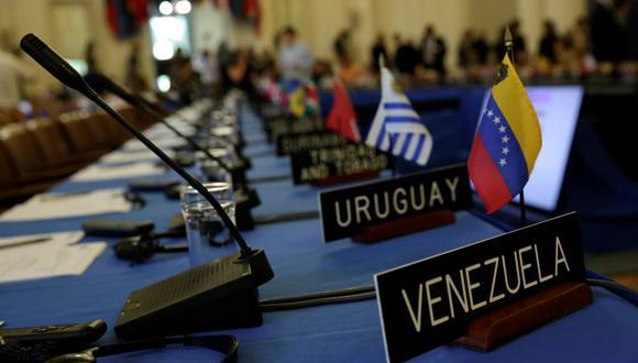 La OEA analiza una resolución para rechazar las elecciones parlamentarias de Venezuela. (REUTERS/Yuri Gripas).
