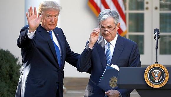 """""""Creo que ellos deberían bajar las tasas"""", afirmó Trump a periodistas. """"No hay inflación"""", sostuvo."""