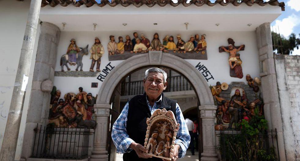 El ceramista Mamerto Sánchez estará en la feria Rural Maki, del 13 al 22 de diciembre, en el Ministerio de Cultura. (Foto: Renzo Salazar)