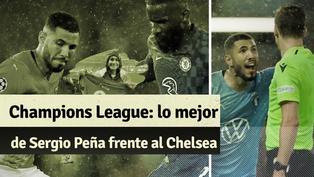Champions League: así fue el desempeño de Sergio Peña en contra el Chelsea