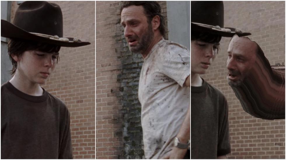 """Cuando """"The Walking Dead"""" llegue a su fin, lo ocurrido en el episodio 3x04 jamás será olvidado. Captura: AMC."""