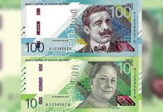 El BCR puso en circulación nuevos billetes de S/ 10 y S/ 100 con rostros de Chabuca Granda y Pedro Paulet