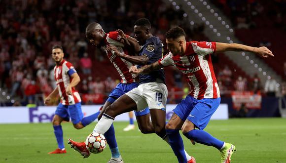 Atlético de Madrid empató 0-0 con Porto en la primera fecha de la Champions League en el Estadio Wanda Metropolitano de España. (Foto: EFE)