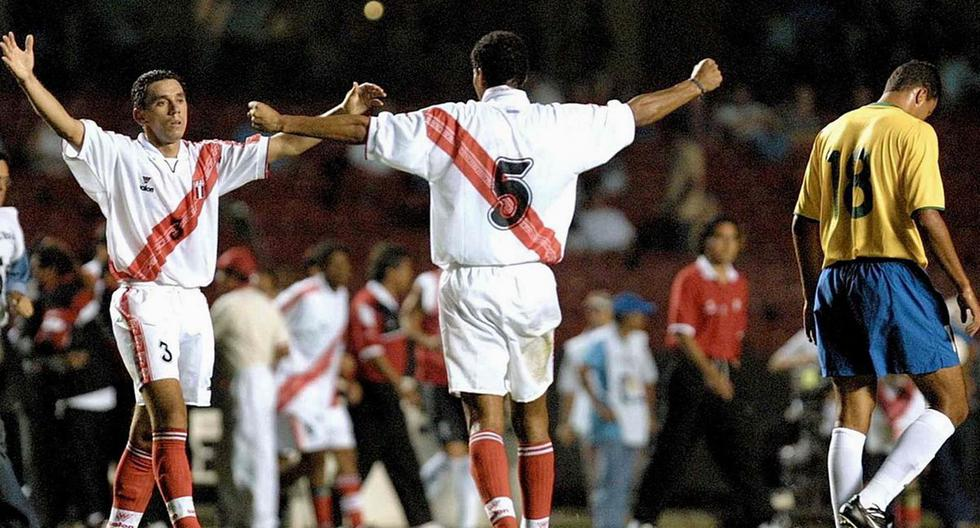 En 2001, la selección peruana consiguió su primer y único empate en Brasil ante el pentacampeón del mundo por Eliminatorias. (Foto: Agencias)