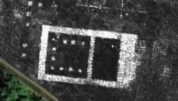 Una de las imágenes obtenidas por el radar de Falerii Novi. (Foto: Reuters)