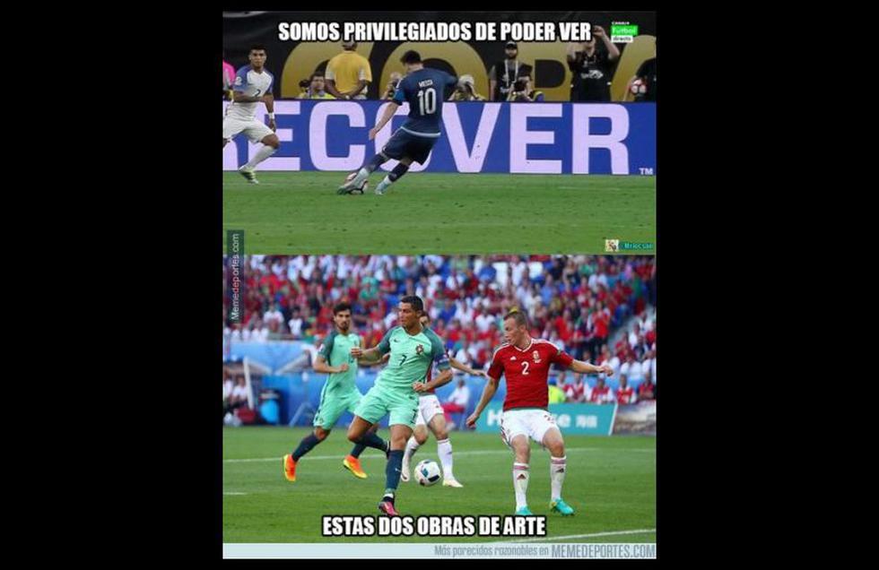 Cristiano Ronaldo: los memes tras su clasificación con Portugal - 4