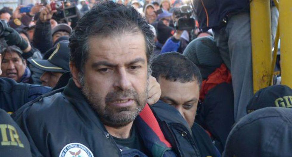 Belaunde Lossio será interrogado por fiscal de 'La Centralita'