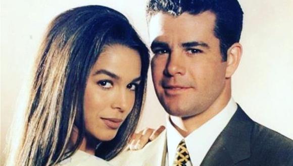 """Biby Gaytán y Eduardo Capetillo están casados desde hace 25 años tras conocerse en las grabaciones de """"Baila conmigo"""" (Foto: Instagram / Biby Gaitán)"""