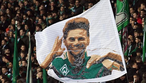 Pizarro llegó en 1999 a Alemania y se mantuvo en el alto nivel todo el tiempo. (Foto: EFE)