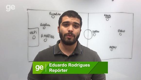 Eduardo Rodrigues llegó a Juliaca para cubrir el Binacional vs. Sao Paulo. (Foto: Globo Esporte)