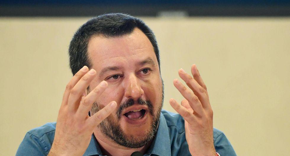 Matteo Salvini, ministro ultraderechista italiano. (Foto: EFE)