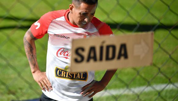 Cueva, el '10' de Perú en la Copa América. (Foto: AFP)