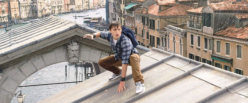 """Tom Holland interpreta a Peter Parker en """"Spider-Man: Far From Home"""" (Foto: Sony Pictures)"""
