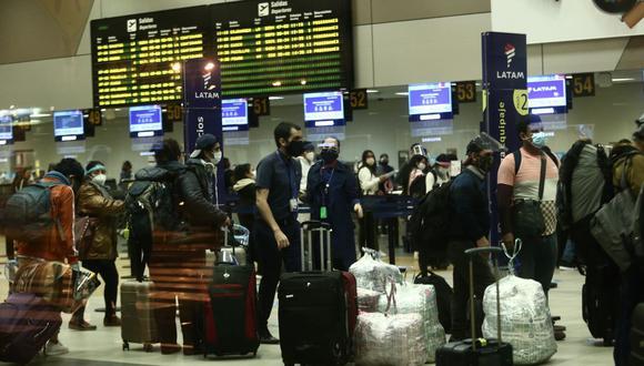 La operación de vuelos internacionales se reanudarán el próximo 5 de octubre. (Foto: Jesus Saucedo / GEC)