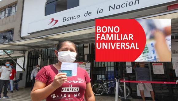Bono Familiar Universal: la próxima semana ya debe estar lista la plataforma virtual de acceso a cada beneficiario. (Agencia Andina)