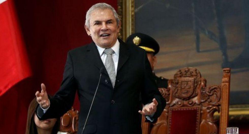 El ex alcalde de Lima Luis Castañeda Lossio no participa en la escena políica desde que dejó el cargo a fines del año pasado. (Foto archivo Municipalidad de Lima)