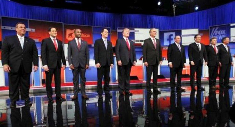 EE.UU.: Candidatos republicanos declaran guerra a los debates