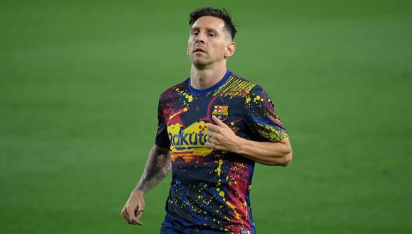El contrato de Lionel Messi con Barcelona está firmado hasta el 2021. (Foto: AFP)