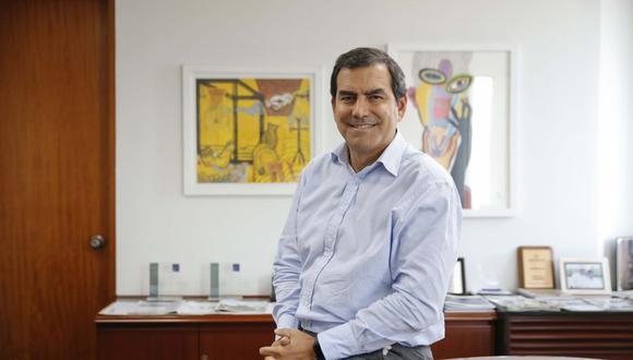 Oscar Caipo asumió la presidencia de Empresarios por la Integridad en febrero del 2021. (Foto: USI)