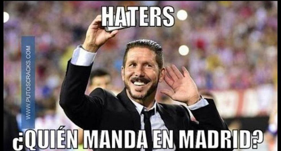 Real Madrid-Atlético de Madrid: así se comenta derbi con memes - 50