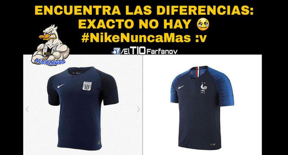 Facebook: Alianza Lima y los despiadados memes de la nueva camiseta blanquiazul.