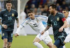 Argentina vs. Uruguay: transmisión internacional cometió tremendo error con los nombres de los futbolistas