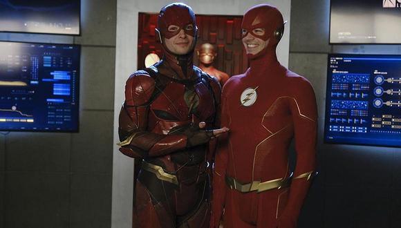 """""""Flash"""": Grant Gustin y Melissa Benoist agradecieron cameo de Ezra Miller en """"Crisis en Tierras Infinitas"""". (Foto: @grantgustin)"""