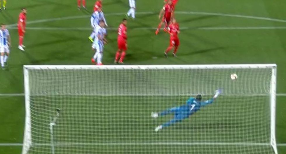 Real Madrid vs. Leganés EN VIVO: preciso  remate sorprendió a Navas para el 1-0 del cuadro local | VIDEO. (Video: YouTube/Foto: Captura de pantalla)