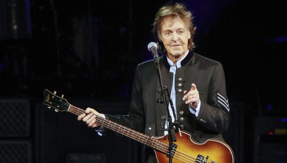 Paul McCartney anuncia que publicará libro en el que relatará su vida través de sus canciones. (Foto: Kamil Krzaczynski / AFP)