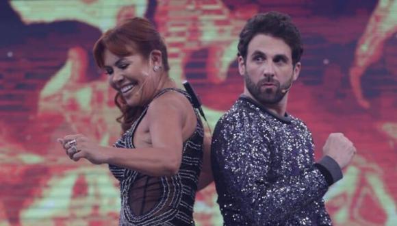 """Magaly Medina y Rodrigo González """"Peluchín"""" hablaron de su distanciamiento. (Foto: César Bueno/GEC)"""