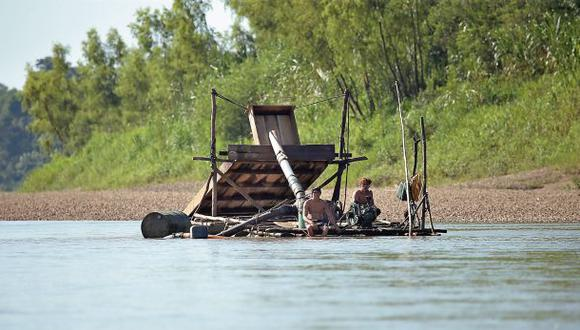 Realizan primera interdicción minera en una reserva nacional