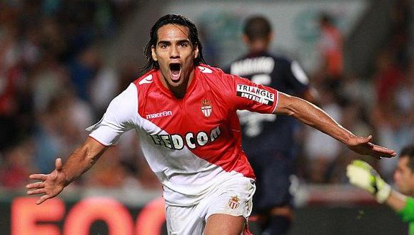 Radamel Falcao jugaría en el Manchester United