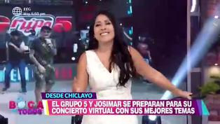 """Tula Rodríguez se emocionó al escuchar """"Que levante la mano"""" canción con su esposo Javier Carmona"""