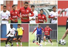 Perú vs. Ecuador: 'Blanquirroja' completó último entrenamiento antes de viajar a Quito | FOTOS