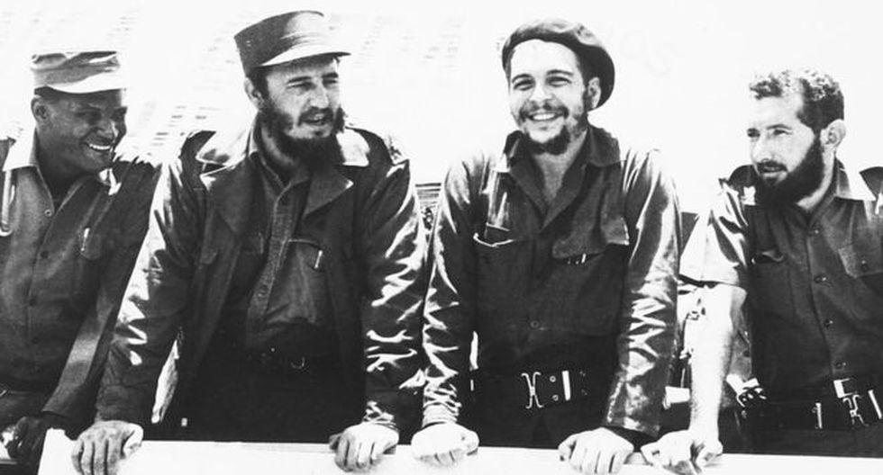 """Fidel Castro y Ernesto """"Che"""" Guevara intentaron exportar la revolución a otros países de América Latina."""