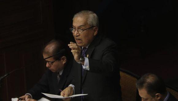 Con los votos de Fuerza Popular y el Apra, Pedro Chávarry no será destituido por sus presuntos vínculos con Los Cuellos Blancos del Puerto (Foto: Renzo Salazar)