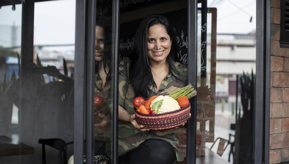 La chef de Matria celebró recientemente los siete años de su restaurante. Ahora, Arlette Eulert está por destapar un nuevo concepto solo para delivery, enfocado en la cocina rica y generosa, como a los peruanos nos gusta. (Foto: César Campos)