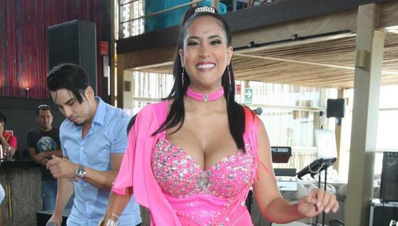 "Melissa Paredes da vida a ""Estrella"", protagonista de la telenovela ""Ojitos hechiceros"". (Foto: GEC)"