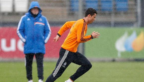 Cristiano Ronaldo entrenó y jugaría el miéroles ante Bayern
