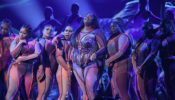 La cantante Lizzo cosechó grandes éxitos en el 2019. En la última premiación de los Grammy, el domingo pasado, obtuvo tres galardones. Foto: AFP.