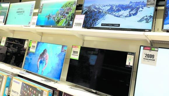Las perspectivas de crecimiento para la venta online de televisores se mantienen al alza, según GfK.