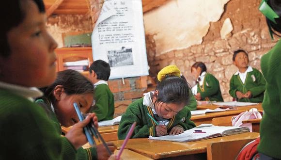 Coronavirus en Perú: Escolares podrán retornar de manera parcial a las aulas en las zonas rurales que esté libres de COVID-19 o los casos se hayan reducido considerablemente. (Foto: Archivo GEC)
