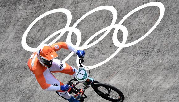 Roban bicicleta a ciclista venezolano de BMX en la Villa Olímpica de Tokio 2020. (Foto: AFP)
