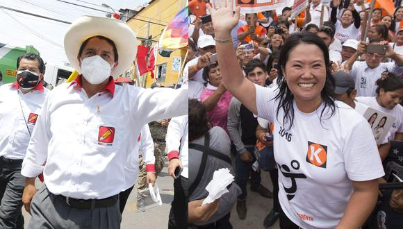 Encuentra aquí los planes de gobierno de Pedro Castillo y Keiko Fujimori (Fotos: GEC)