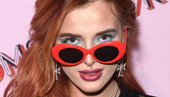 """Annabella Avery """"Bella"""" Thorne nació en Florida el 8 de octubre de 1997. Es actriz y cantante estadounidense. (Foto: AFP)"""